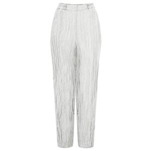 Grizas Viveca Solid Crinkle Easyfit Trouser