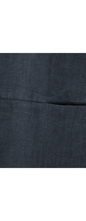 Thing Linen Pocket Top Navy