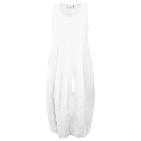 Thing Linen Sleeveless Dress - White