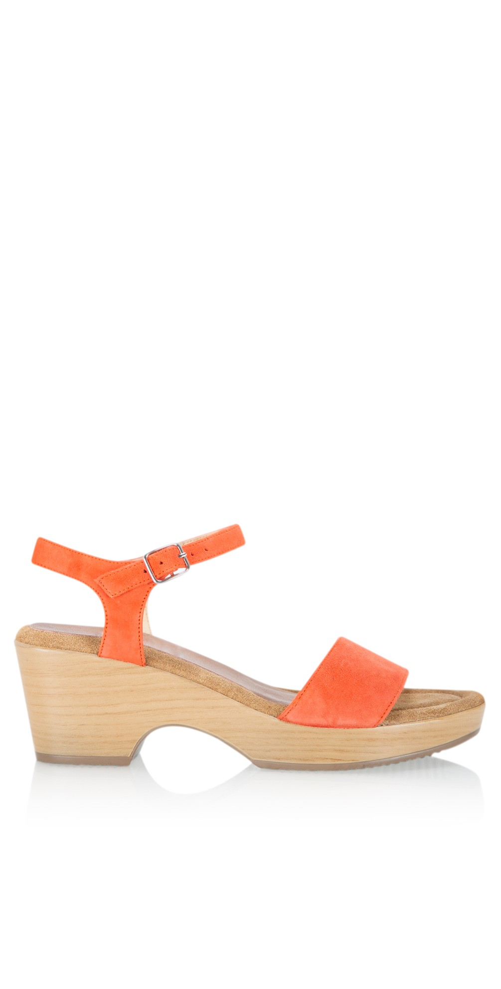 Aneka Icon Suede Wedge Sandal main image