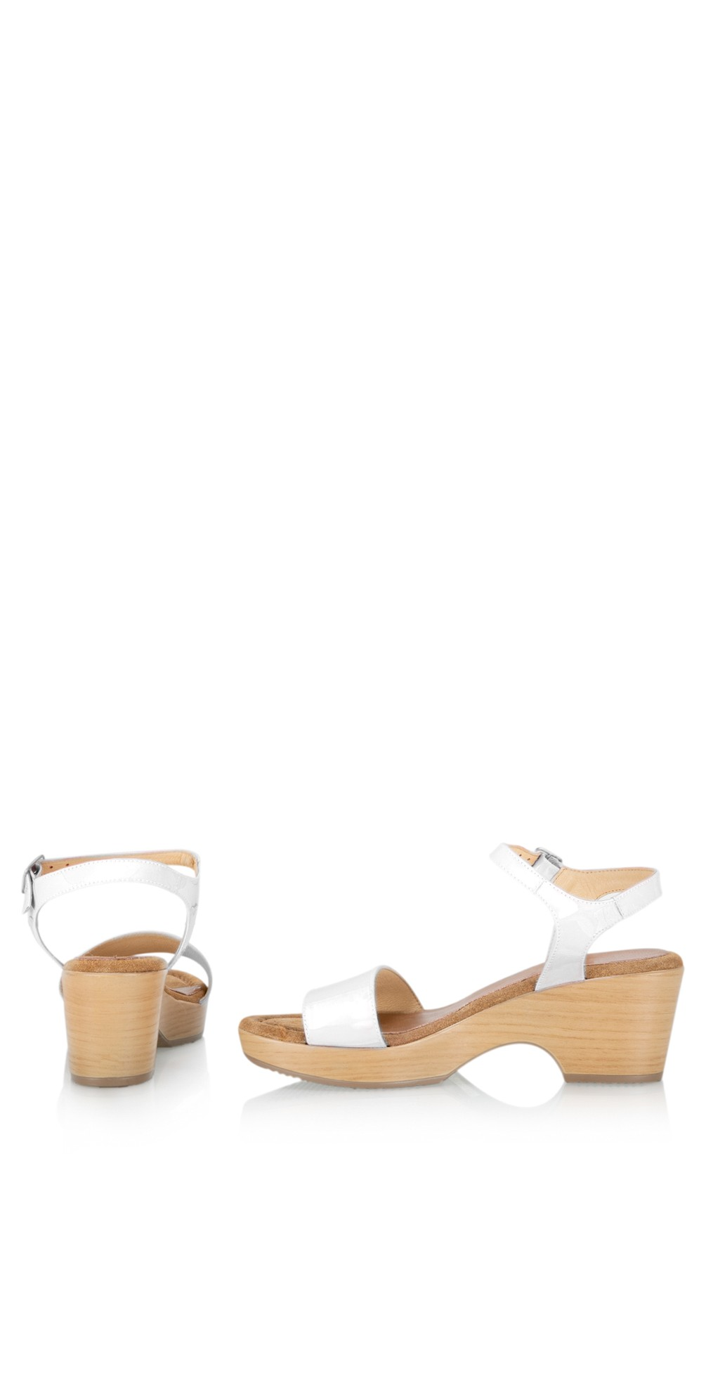 Aneka Icon Patent Wedge Sandal  main image