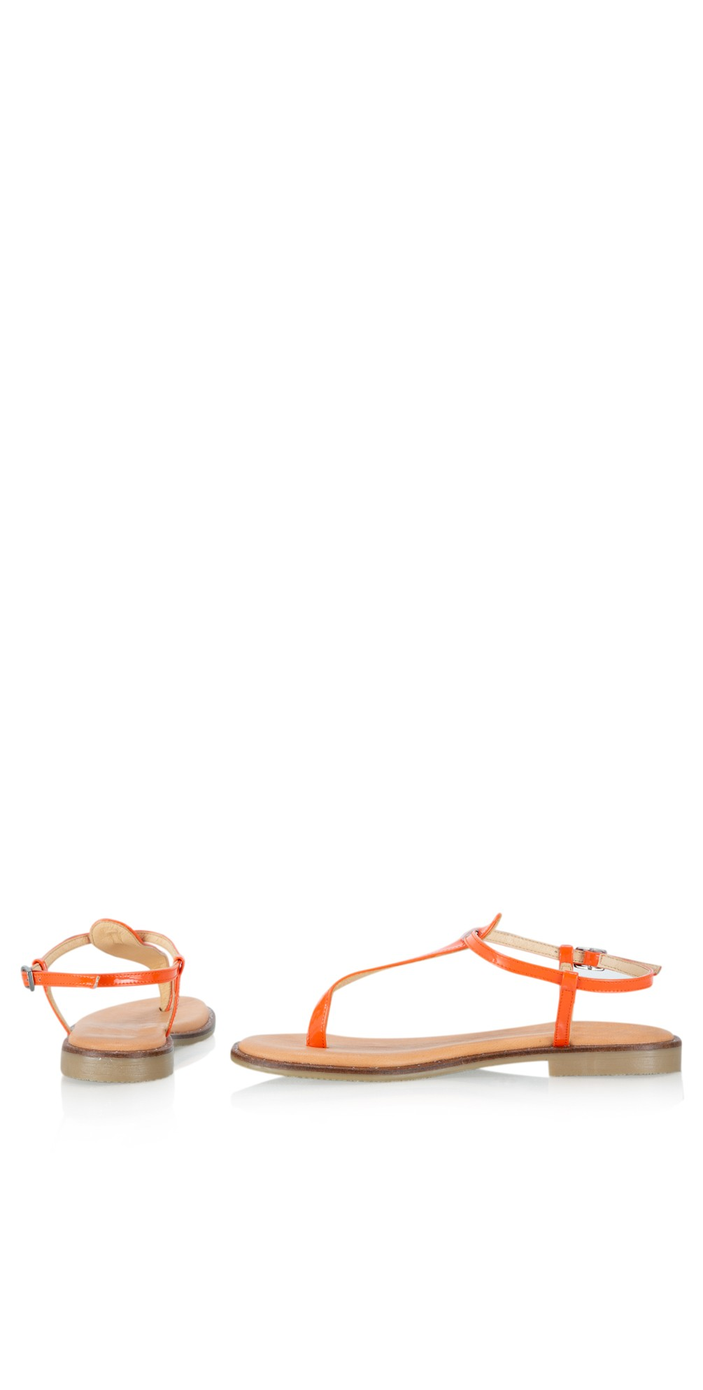 Sammie Icon Patent Flat Sandal main image