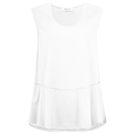 Mama B Gobi Izmir Plain Top - White