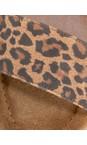 Gemini Label  Leopardo Aneka Icon Suede Wedge Sandal