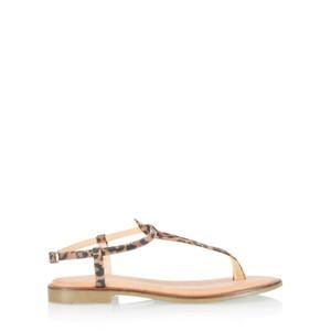 Gemini Label Shoes Sammie Icon Suede Flat Sandal