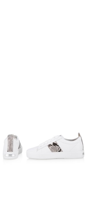 Kennel Und Schmenger Up Snakeskin Trainer shoe Bianco/Grey