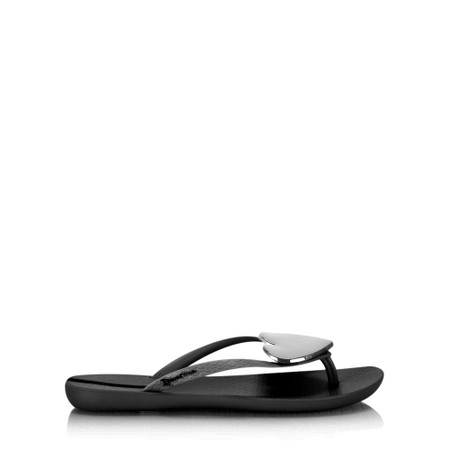Ipanema Maxi Heart 21 Sandal  - Black