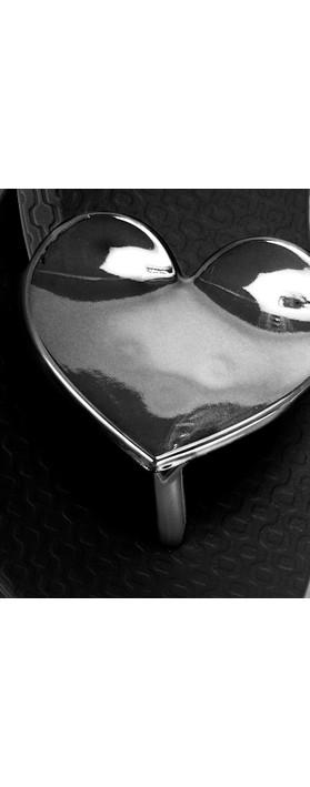 Ipanema Maxi Heart 21 Sandal  Black