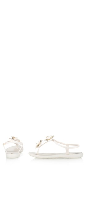 Ipanema Floral Sandal Special  Ivory