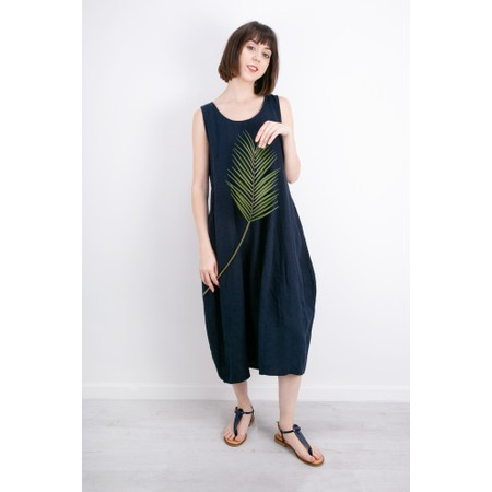 Thing Linen Sleeveless Dress - Blue