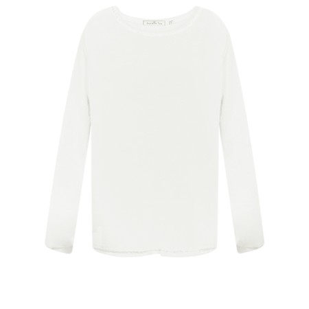 Sundae Tee Tila Long Sleeve Top - Off-White