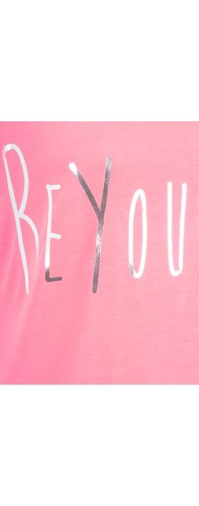 Sundae Tee Izzie Slogan Tee Pink