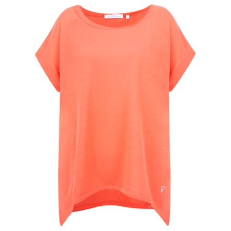 Sundae Tee Trina Linen Tee - Orange