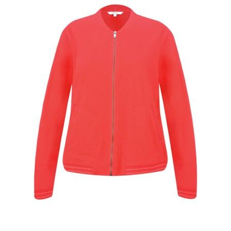 Sandwich Clothing Cotton Slub Jersey Bomber Jacket - Red