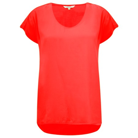 Sandwich Clothing Cotton Slub Jersey Top - Red