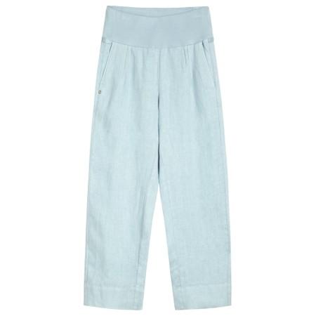Sandwich Clothing Linen Natalie Trouser - Blue