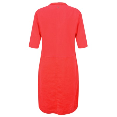Sandwich Clothing Linen Easy Fit Dress - Red