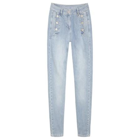 Sandwich Clothing Summer Stretch Denim Jeans - Blue