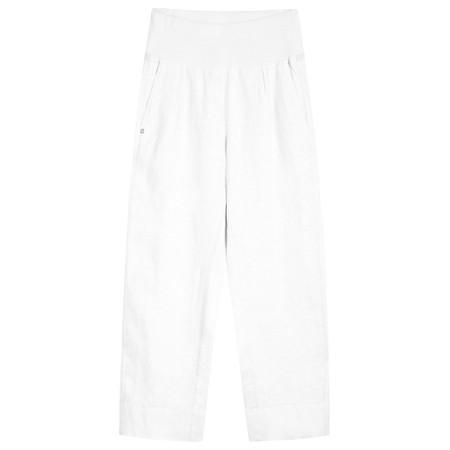 Sandwich Clothing Linen Natalie Trouser - White