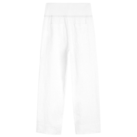 Sandwich Clothing Linen Natalie Trouser - White