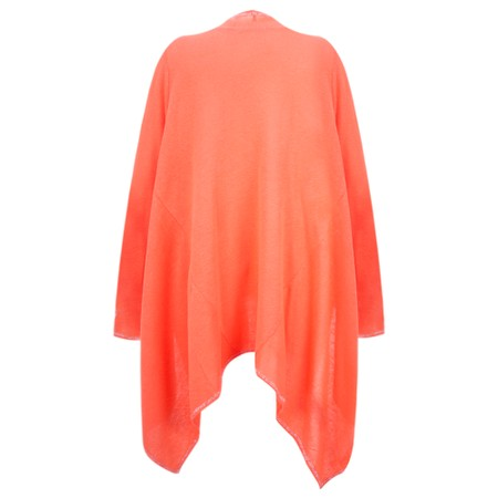 Sundae Tee Lucy Waterfall Cardigan - Orange