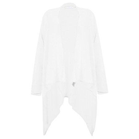 Sundae Tee Lucy Waterfall Cardigan - White