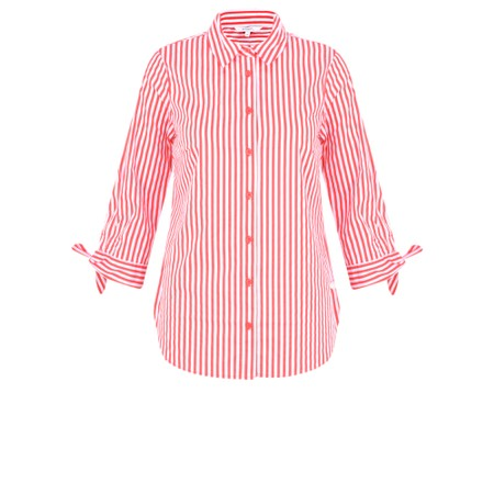 Sandwich Clothing Candy Stripe Blouse - Red