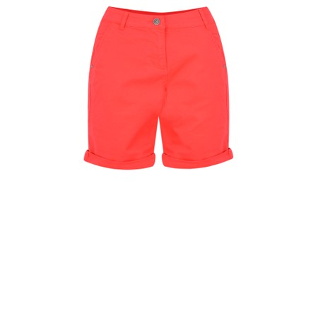 Sandwich Clothing Stretch Twill Casual Shorts - Red