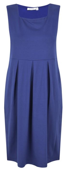 Masai Clothing Hadas Tunic Dress Oxford Blue