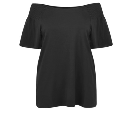 Masai Clothing Denisa Bardot Top - Black