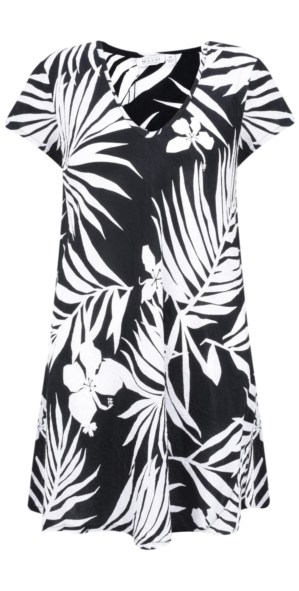 Palm Print Van Tunic main image