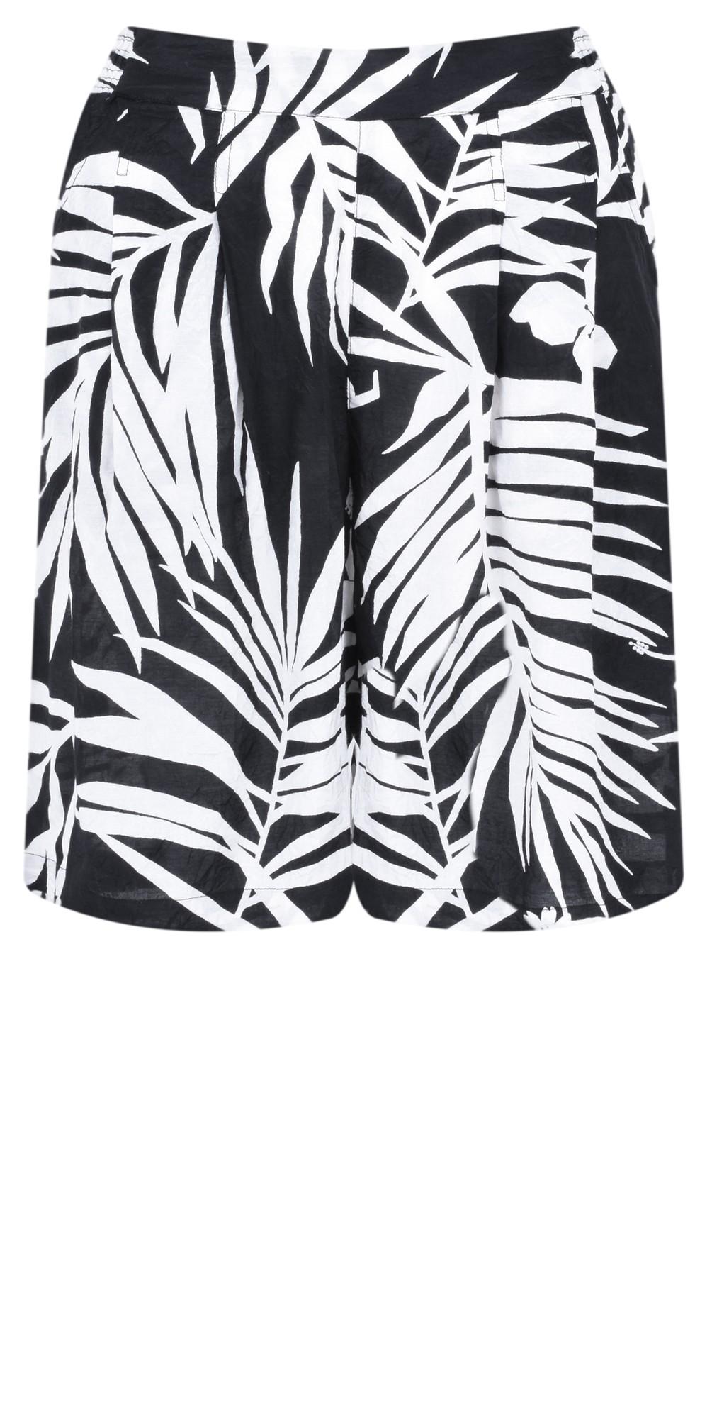Palm Print Para Shorts main image