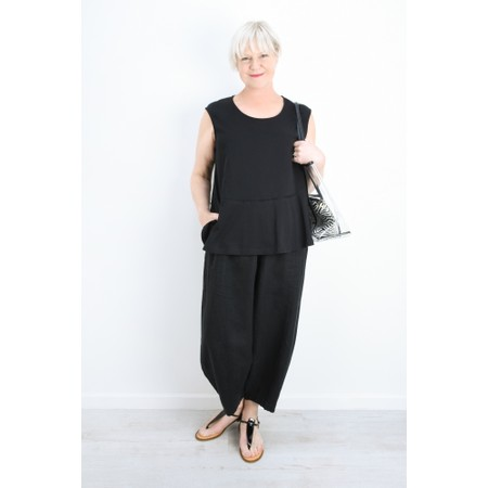 Mama B Gobi Izmir Plain Top - Black