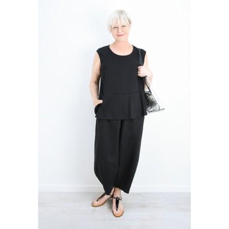 Thing Linen Easy Fit Trouser - Black