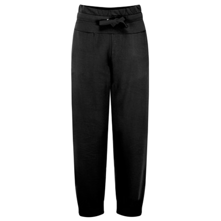 Sundae Tee Cleo Ankle Zip Lounge Trousers - Black
