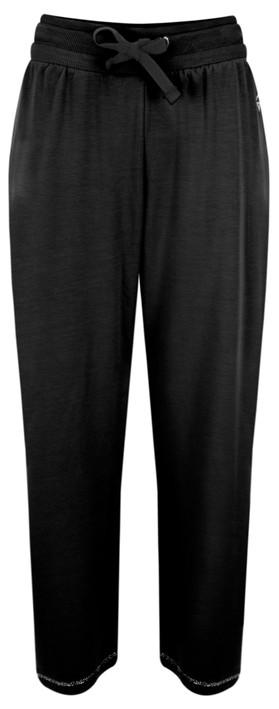 Sundae Tee Kimmy Cropped Lounge Trousers Black