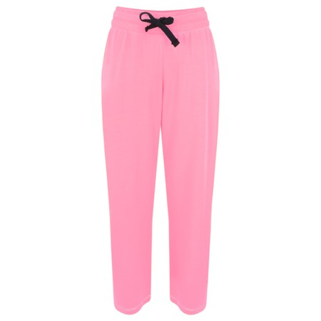 Sundae Tee Kimmy Cropped Lounge Trousers - Pink