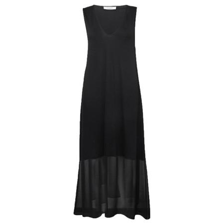 Great Plains Leighton Mix Jersey Dress - Black