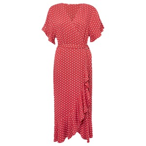 Great Plains Dana Dot Wrap Dress