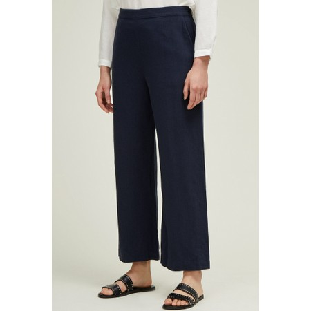 Great Plains Dana Linen Trouser - Blue