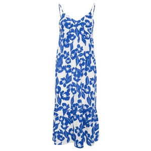 ICHI Nella Floral Print Dress