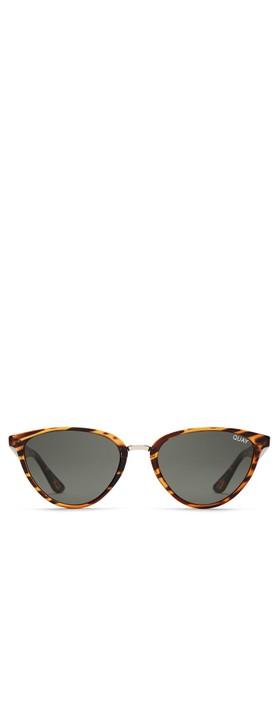Quay Australia Rumours Sunglasses Tortoise/Green