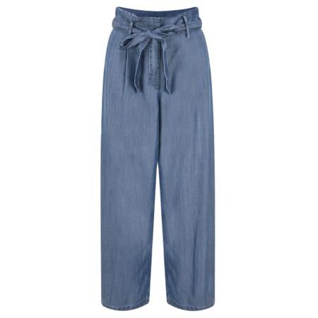 Sandwich Clothing Denim Culotte Trousers - Blue