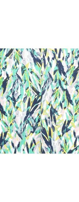 Sandwich Clothing Abstract Print Dress Jolly Green