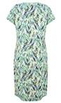 Sandwich Clothing Jolly Green Abstract Print Dress