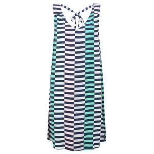 Sandwich Clothing Distorted Stripe Dress