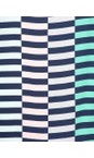 Sandwich Clothing Navy Distorted Stripe Dress