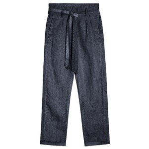 Sandwich Clothing Cropped Linen Trousers
