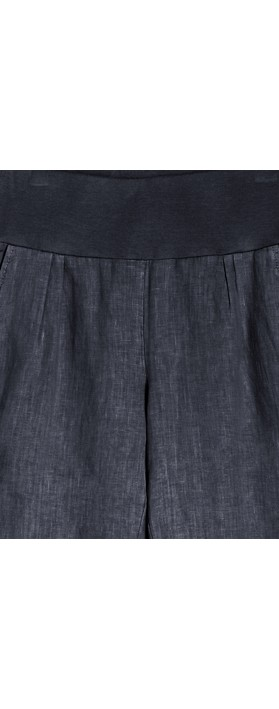 Sandwich Clothing Linen Natalie Trouser Navy