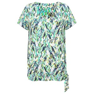 Sandwich Clothing Abstract Jersey Print Top
